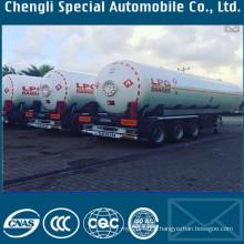 49520liters Pressure Vessel LPG Transport Tank Trailer