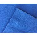Tissu polaire micro-lié 100% polyester teint