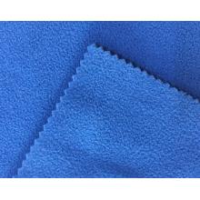 Tecido polar polar microligado tingido 100% poliéster