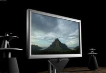 Khung hình TV bán tự động dập máy nóng