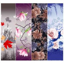Nueva y moda de diseño 3d 100% poliéster tejido impreso