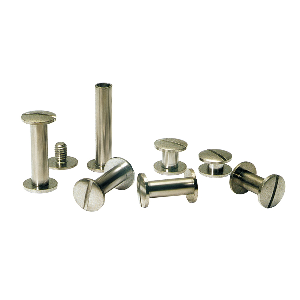 Nickel Plating Book Binding Rivet Screw Screw 2