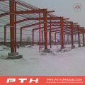 Prefab Customized Design Industrial Steel Structure Warehouse Von Pth
