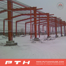 Prefab Customized Design Industrial Steel Structure Warehouse From Pth