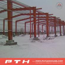 Armazém 2015 pré-fabricado personalizado da construção de aço da pth