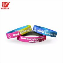 Bracelet en silicone promotionnel le plus populaire
