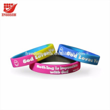 Most Popular Promotional Silicone Wristband