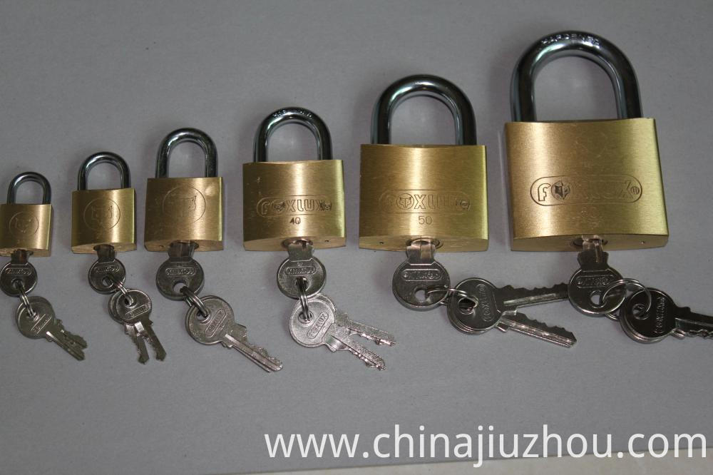 Thick Safety Brass Padlock