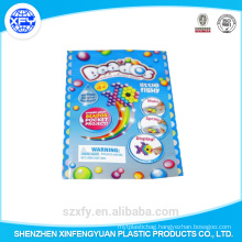 Laminated plastic bag for packaging food