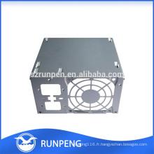 Boîtiers de dissipateur de chaleur d'instrument d'équipement électrique