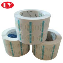 ロール接着紙のステッカー印刷