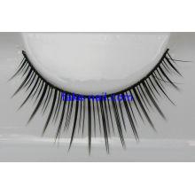 100% Hand Made Natural False Eyelashes , Fabric Material Artificial Eyelash