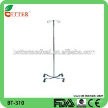 Hospital Adjustable Stainless Steel I.V stand