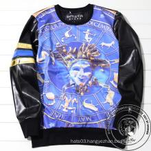 Blue Print Allover Shirt