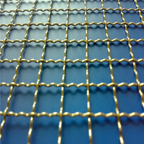 Durable Square Crimped Wire Mesh