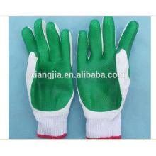 Guantes de trabajo de seguridad laminado de goma de calidad superior Palm