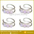 Novo Design de Jóias Indiano Sexo Ouro Opala Hoop Nose Ring Nath Novo Design de Jóias Indiano Sexo De Ouro Opal Hoop Nose Ring Nath