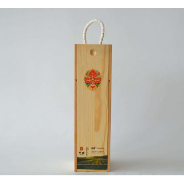 Boîte d'emballage de vin en bambou