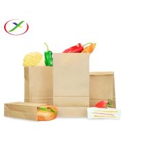 хозяйственная сумка из крафт-бумаги