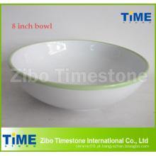 8 polegadas grande tigela de sopa de cerâmica