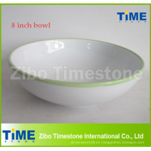 Cuenco de sopa de cerámica grande de 8 pulgadas