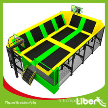 meilleur trampoline rectangle long pas cher