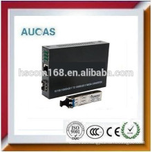 10/100Mbps fiber optic to rj45 media converter china offer