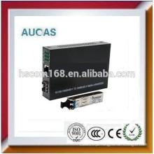 10 / 100Mbps de fibra óptica para rj45 conversor de mídia china offer