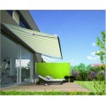 Outdoor Patio einklappbare Seitenmarkise Privacy Divider Green