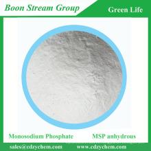 MSP 98% min Fosfato monosódico anhidro con el mejor precio