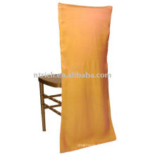 couverture de chaise satin