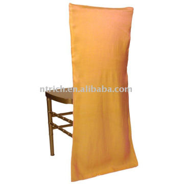 couverture de chaise satin