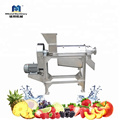 High Efficiency Industrial Stainless Steel Fruit Mango Orange Apple Juicer Juice Making Machine