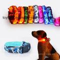 Colar do cão LED colar piscando Segurança Pet