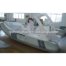 Barco inflável de 5,8 M CE costela