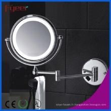 Miroir de maquillage Fyeer à double paroi AC Power LED
