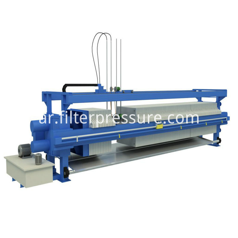 Auto Cloth Washing Filter Press
