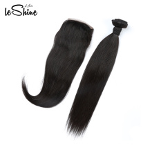 Cuticle Aligned Hair  Straight Brazilian Closure