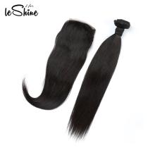 Cuticle Aligned Hair  Straight Brazilian Closure