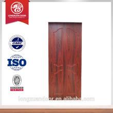Porte en bois massif de Chine porte intérieure design de porte pour villa de luxe Choix du fournisseur le plus populaire