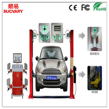 5D Tracking Wheel Alignment