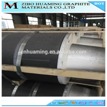 Graphite carbon electrode rod with high mechanical strength