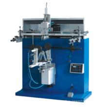 Круглый пластиковый ковш / стаканчик / бутылочный принтер для печати полуавтоматический шелкографический станок с держателем для продажи завод