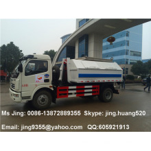 Baixo pirce de caminhão de lixo pequeno caminhão de lixo 5cbm capacidade de venda de caminhão de lixo em Djibuti