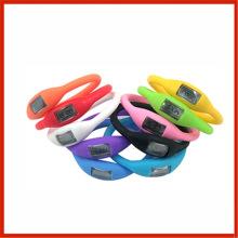 Customizable Logo Negative Ion Watch Silicone Sports Watch Men Women Sports Watch Candy Color Children Watch