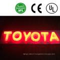 Lettres Alphabet LED en plastique de haute qualité
