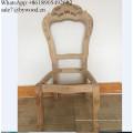 Muebles para el hogar marco de sillas de lujo marcos antiguos tallados muebles de comedor talla de madera silla marco