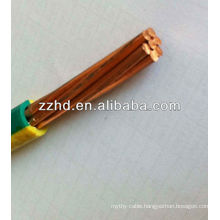 BYA wire BAYA wire pvc insulated non-sheathed single core wire