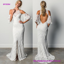 Grace Loves Lace Wedding Dress with Hollow out Sleeves and Back