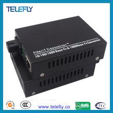 Sc Single Fiber 10/100 / 1000m Fiber Media Converter